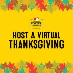 host a virtual thanksgiving