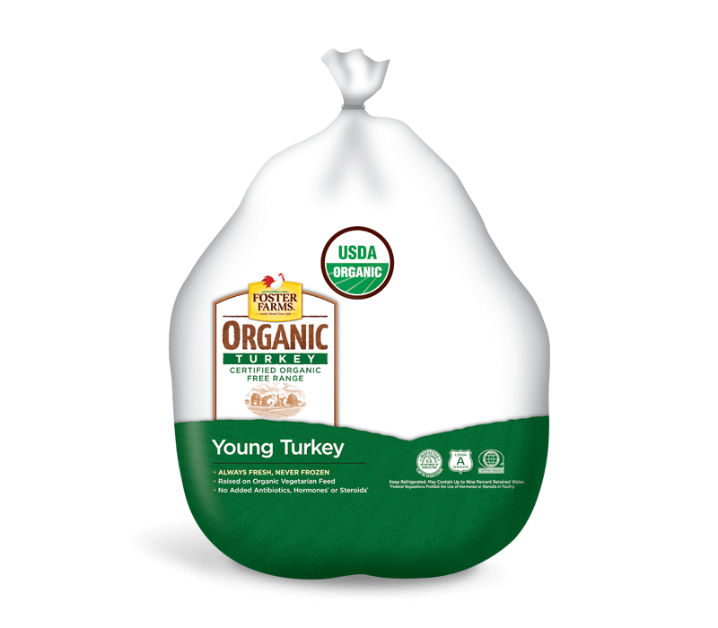 Organic Young Whole Turkey