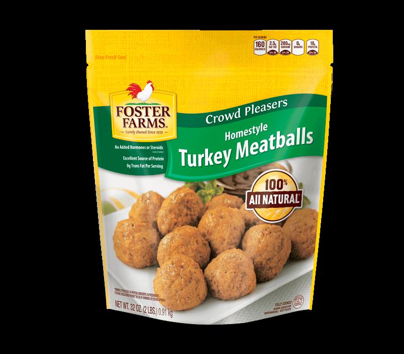 Homestyle Turkey Meatballs