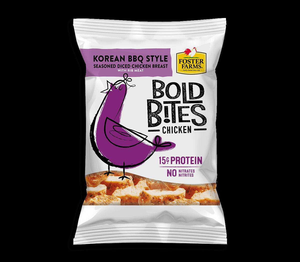 Korean BBQ Style Bold Bites
