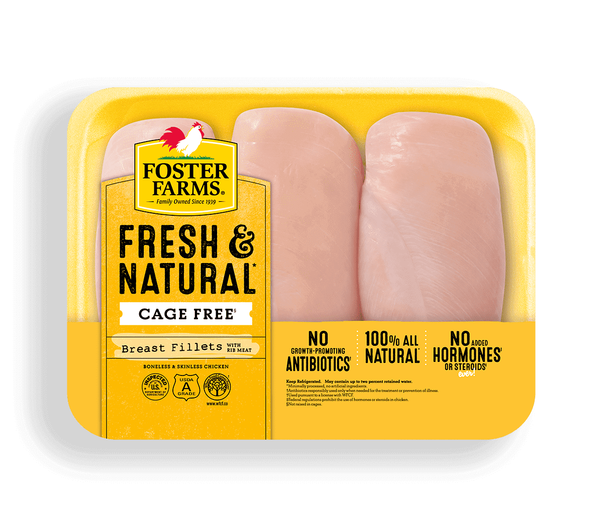 Fresh & Natural Boneless Skinless Chicken Breast Fillets